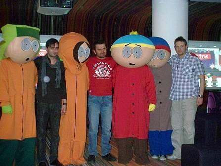 South park: Bozsó Péter, Csõre Gábor, Dolmány Attila