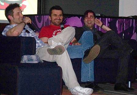 A South Park-csapat: Bozsó Péter, Csõre Gábor és Dolmány Attila