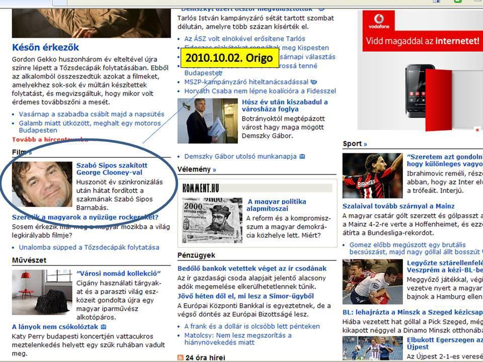 Origo 2010.10.02.