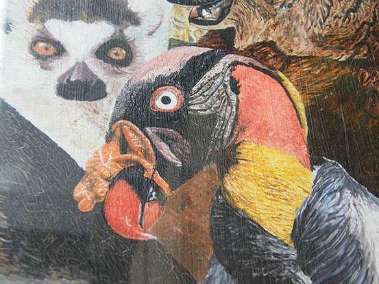 Részlet Csankó Zoltán festményébõl
