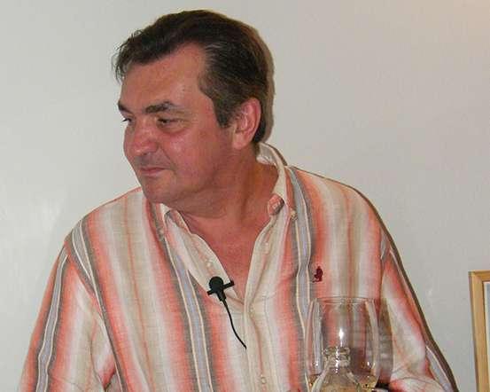 Csankó Zoltán interjú közben